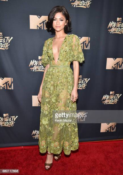 Actor/recording artist Zendaya attends the 2017 MTV Movie And TV Awards at The Shrine Auditorium on May 7 2017 in Los Angeles California