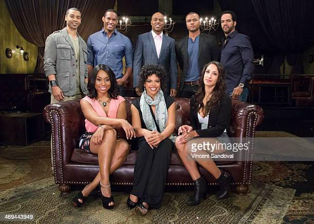 Actors Aaron D Spears Lawrence Saint Victor Kevin Frazier Redaric Williams Kristoff St John Angell Conwell Karla Mosley and Christel Khalil attend...