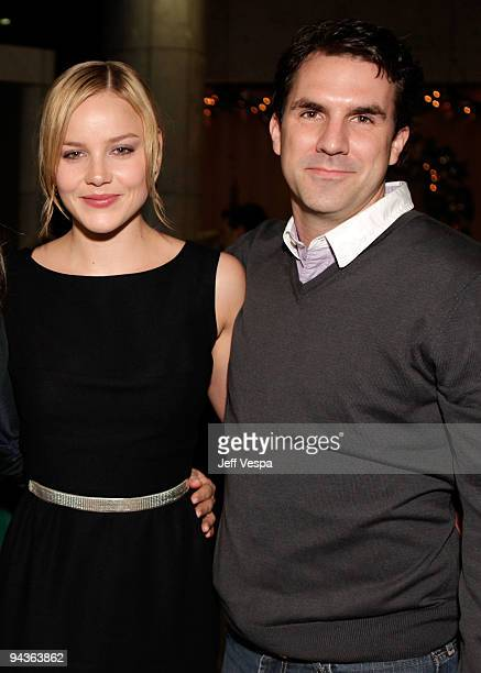 Actors Abbie Cornish and Paul Schneider attend a special Los Angeles screening of 'Bright Star' on December 12 2009 in Beverly Hills California