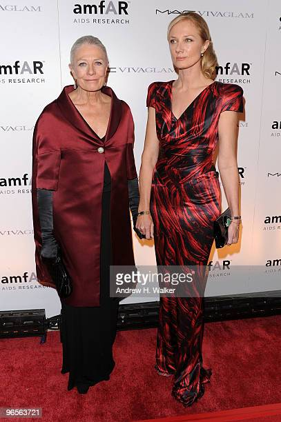 Actors Actress Vanessa Redgrave and Joely Richardson attend the amfAR New York Gala cosponsored by MAC Cosmetics to Kick Off Fall 2010 Fashion Week...