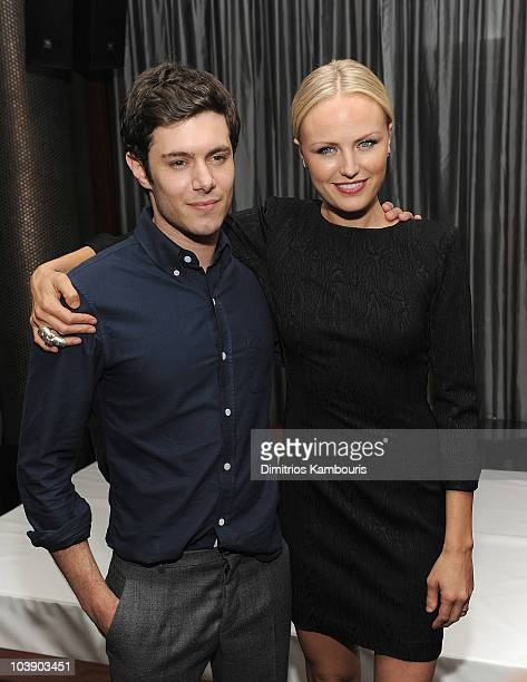 Actors Adam Brody and Malin Akerman attend the after party for the Cinema Society with People StyleWatch J Crew screening of The Romantics at the...