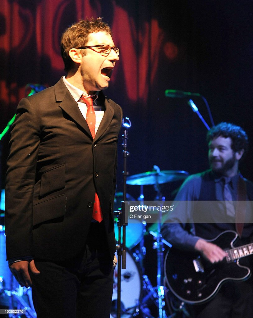 Actors Adam Busch and Danny Masterson perform during the San Francisco PETTY FEST at The Fillmore on February 27, 2013 in San Francisco, California.
