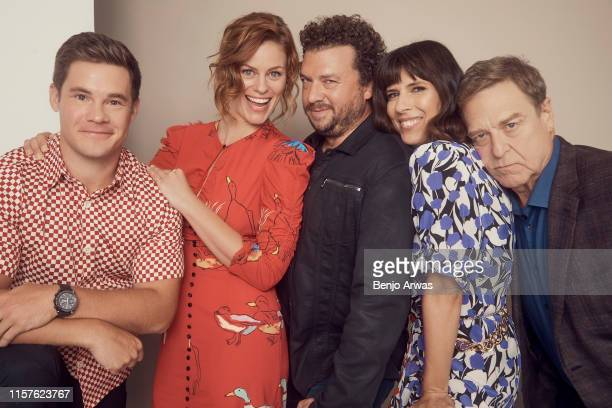 Actors Adam DeVine and Cassidy Freeman Creator/Executive producer Danny McBride and actors Edi Patterson and John Goodman of HBO's 'The Righteous...