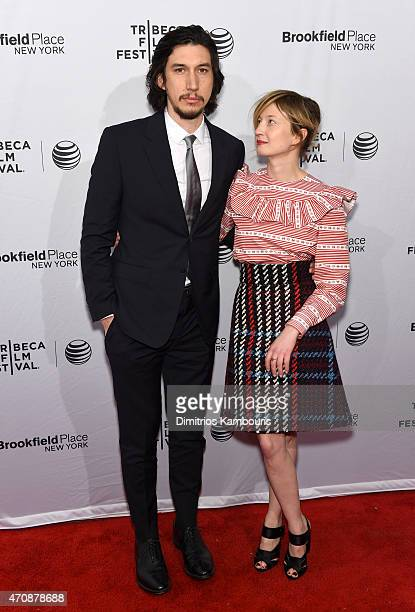 Actors Adam Driver and Alba Rohrwacher attend the premiere of Hungry Hearts during the 2015 Tribeca Film Festival at the SVA Theater on April 23 2015...