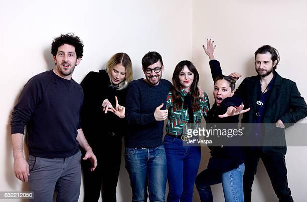 Actors Adam Shapiro, Dree Hemingway, Jorma Taccone, writer/director/actress Michelle Morgan and actors Margarita Levieva and Kentucker Audley from...