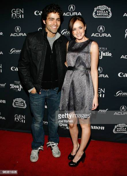 """Actors Adrian Grenier and Alexis Bledel attends the Gen Art Film Festival screening of """"Teenage Paparazzo"""" at the School of Visual Arts Theater on..."""