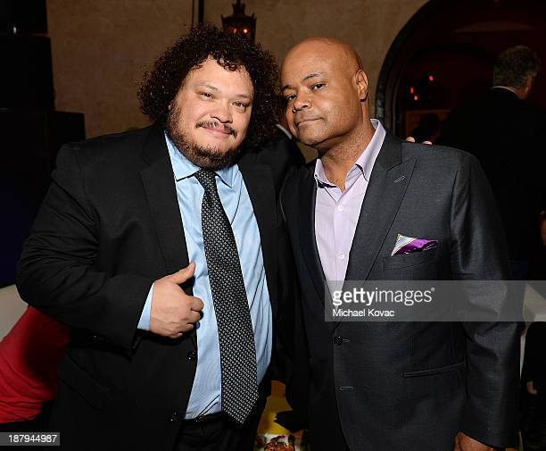 Actors Adrian Martinez and Terence Bernie Hines attend the The Secret Life Of Walter Mitty Gala After Party during AFI FEST 2013 presented by Audi at...