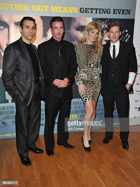 Actors Adrian Paul Gary Stretch Meredith Ostrom and Lee Ryan attend 'The Heavy' film premiere at the Odeon West End on April 15 2010 in London England