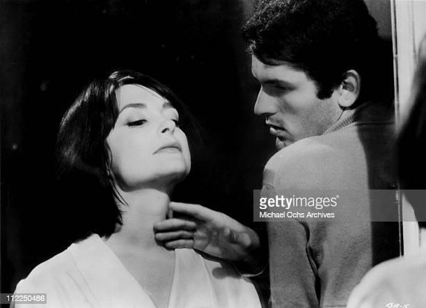 Actors Adriana Asti and Francesco Barilli in a scene from the movie 'Before The Revolution' aks 'Prima della rivoluzione' in 1964 in Italy