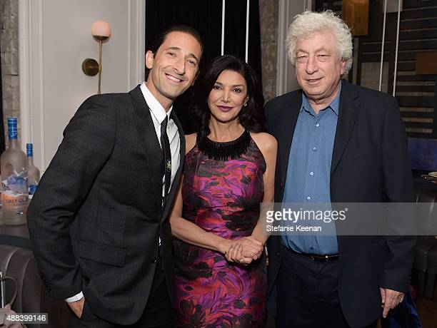 Actors Adrien Brody Shohreh Aghdashloo and executive producer Avi Lerner attend the Septembers of Shiraz TIFF Party Hosted By GREY GOOSE Vodka at...