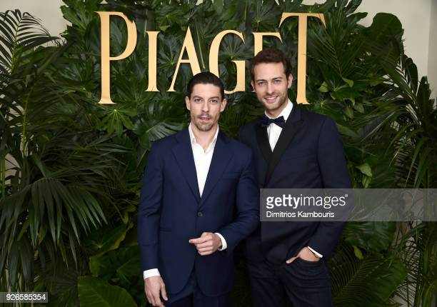 Actors Adrián Lastra and Peter Vives attends Piaget Celebrates Independent Film with The Art of Elysium at Chateau Marmont on March 2 2018 in Los...