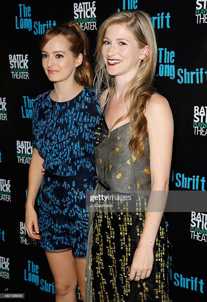 Actors Ahna O'Reilly and Allie Gallerani attend 'The Long Shrift' after party at Rattlestick Playwrights Theater on July 13, 2014 in New York City.
