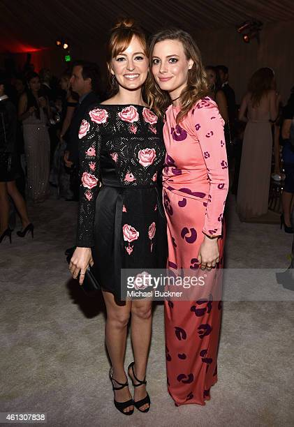 Actors Ahna O'Reilly and Gillian Jacobs attend the 8th Annual HEAVEN Gala presented by Art of Elysium and Samsung Galaxy at Hangar 8 on January 10...