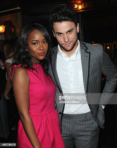 Actors Aja Naomi King and Jack Falahee attend Vanity Fair and FIAT celebration of Young Hollywood hosted by Krista Smith and James Corden to benefit...