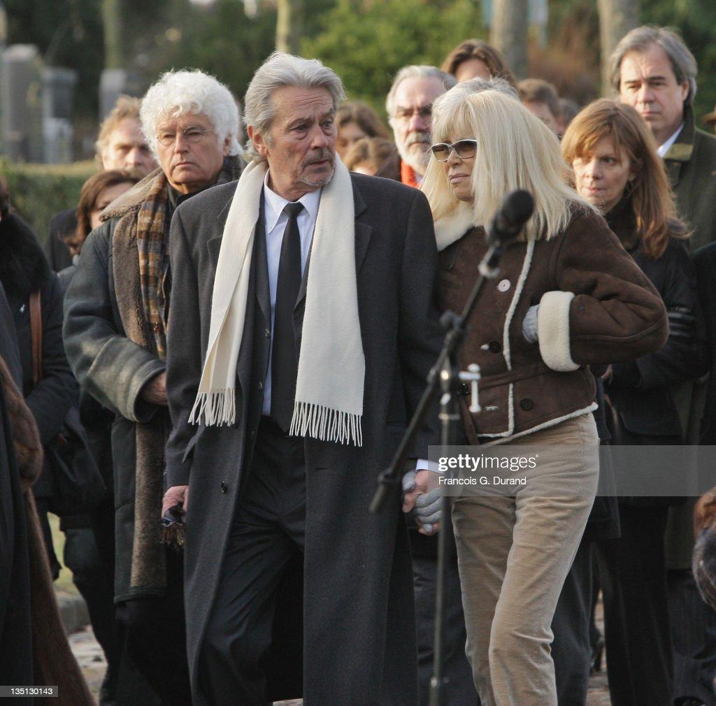 Producer-Director Claude Berri's Funeral : News Photo