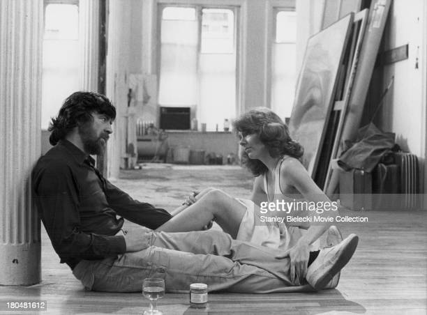 Actors Alan Bates and Jill Clayburgh in a scene from the movie 'An Unmarried Woman' 1978