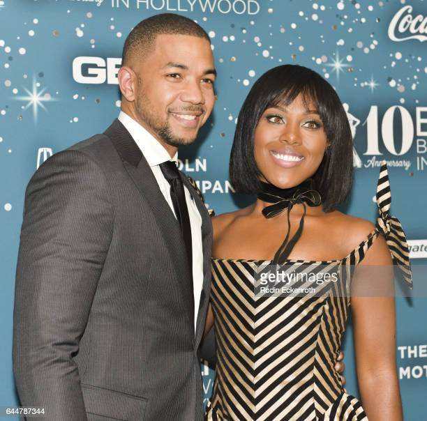 Actors Alano Miller and DeWanda Wise attend the Essence 10th Annual Black Women in Hollywood Awards Gala at the Beverly Wilshire Four Seasons Hotel...