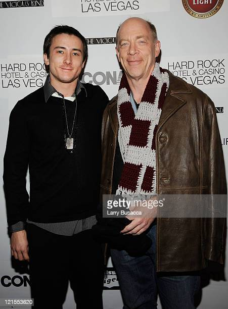 Actors Alex Frost and Jk Simmons attend 'The Vicious Kind' Party at the Hollywood Life House on January 17 2009 in Park City Utah