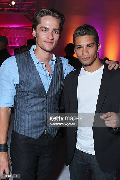 Actors Alex Heartman and Hector David Jr attend the NYLON Magazine 13th Anniversary Celebration Presented by Beadhead by Tiji at Smashbox West...