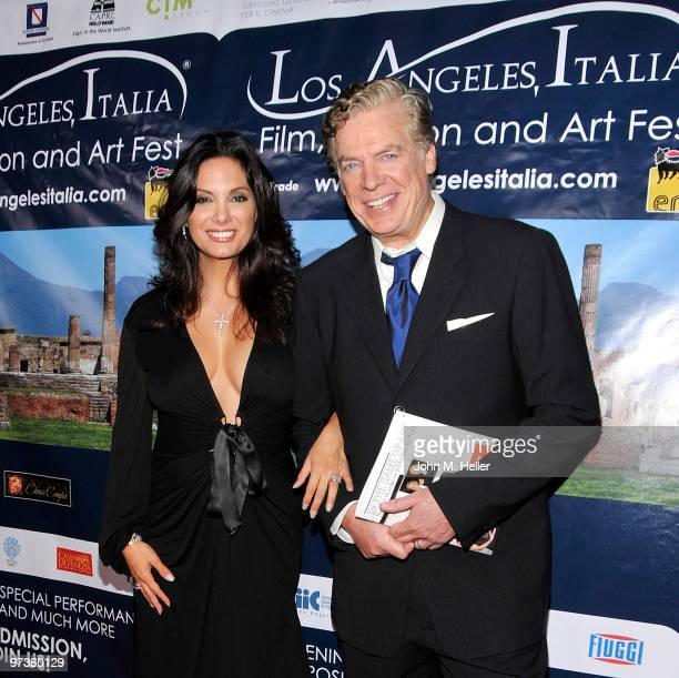 Actors Alex Meneses and Chris McDonald attend the Los Angeles Italia Film Fashion Art Festival at the Mann Chinese 6 on March 1 2010 in Los Angeles...