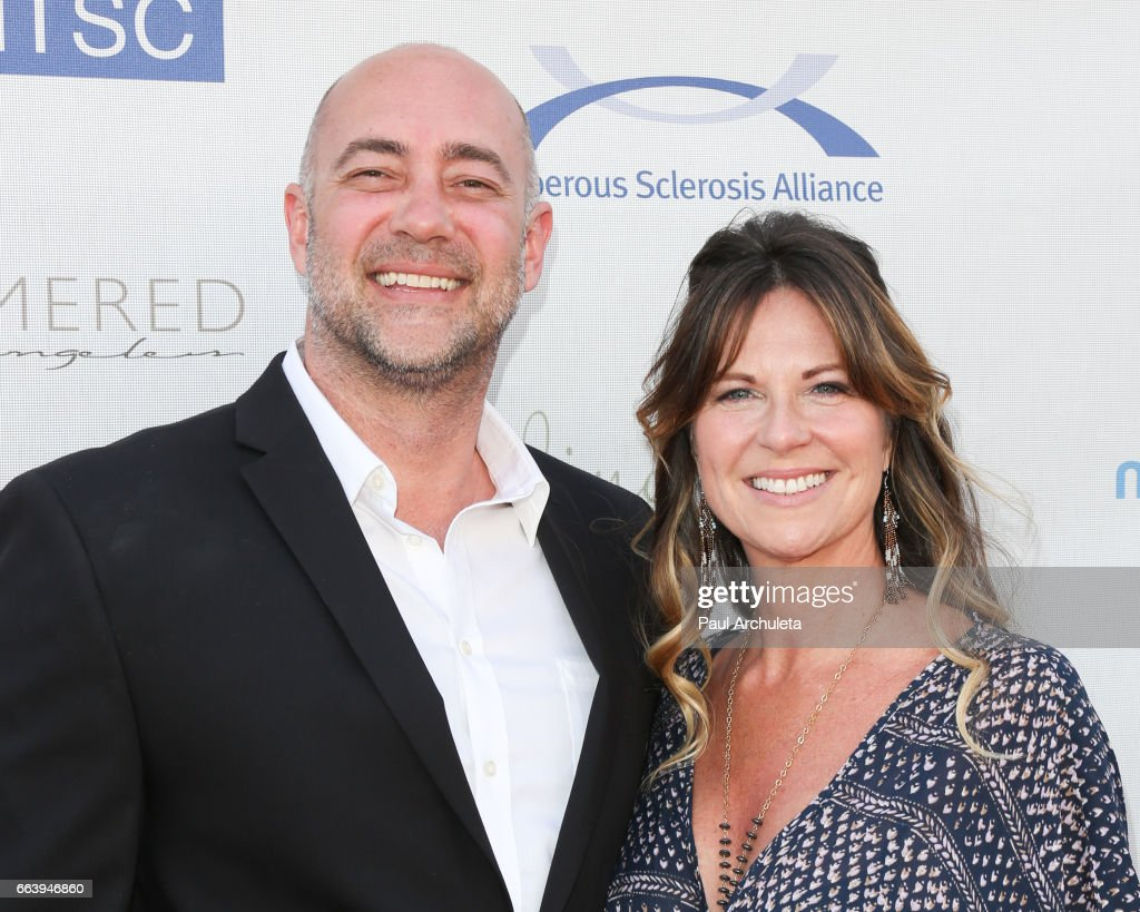 Actors Alex Skuby and Mo Collins attend the 16th annual