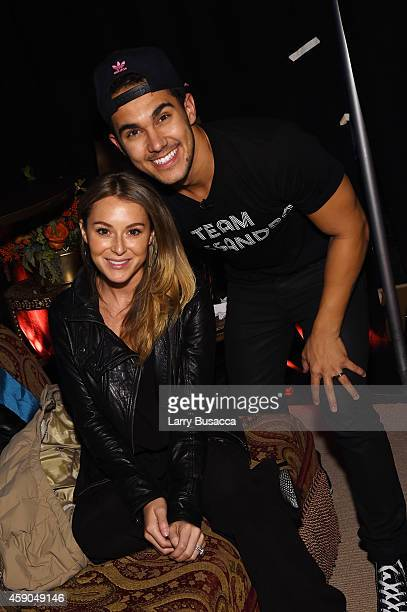 Actors Alexa Vega and Carlos PenaVega pose backstage at the Sixth Annual Nickelodeon HALO Awards in New York City The hourlong concert special will...