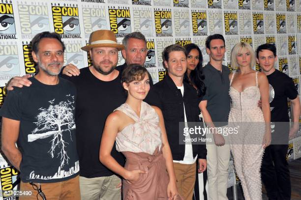 Actors Alexander Siddig Drew Powell Sean Pertwee Camren Bicondova Ben McKenzie Jessica Lucas Cory Michael Smith Erin Richards and Robin Lord Taylor...
