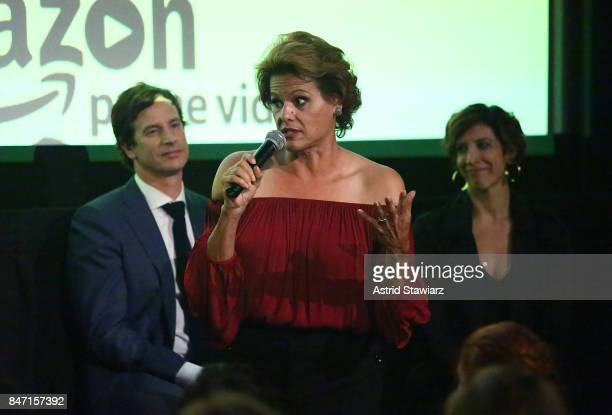 Actors Alexandra Billings and Rob Huebel attend a screening event for members of the Screen Actors Guild in New York for the Amazon Prime series...