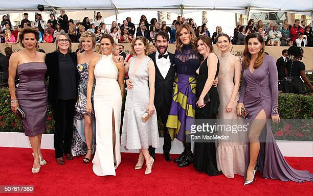 Actors Alexandra Billings Cherry Jones Melora Hardin Amy Landecker Jay Duplass Carrie Brownstein Our Lady J and Kathryn Hahn attend the 22nd Annual...