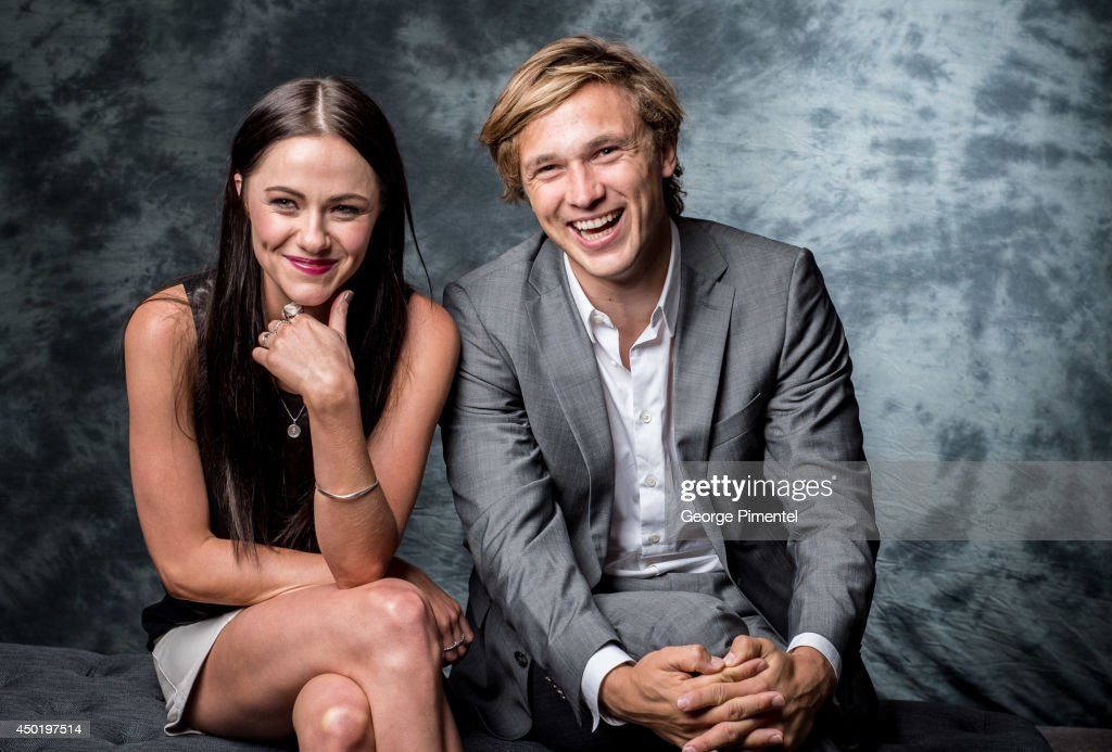 Actors Alexandra Park and William Moseley of The Royals poses for a portrait during CTV 2014 Upfront at Sony Centre for the Performing Arts on June 5, 2014 in Toronto, Canada.
