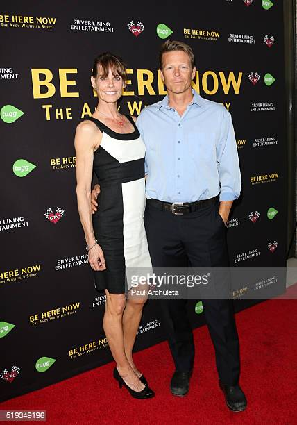 Actors Alexandra Paul and Ian Murray attend the premiere of 'Be Here Now' from Silver Lining Entertainment at UTA Theater on April 5 2016 in Los...