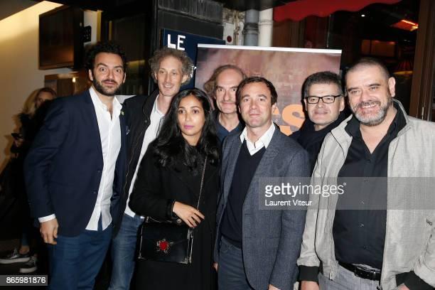 Actors Alexandre Blazy Bruno Gouery Actress Nabiha Akkari Actor Michel Vuillermoz Director Nicolas Castro Actors JeanMichel Lahmi and Michael...