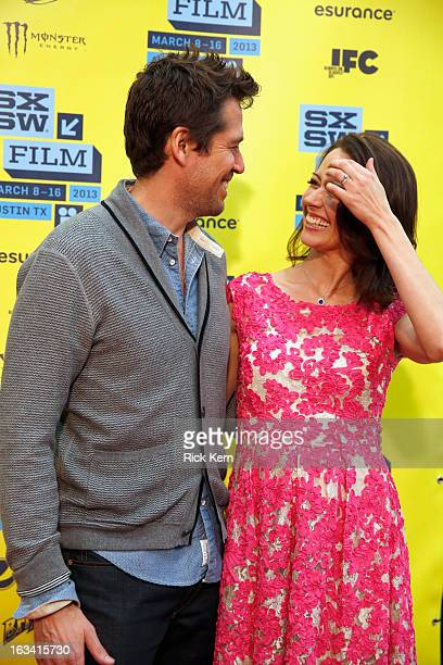 Actors Alexis Denisof and Amy Acker arrive at the screening of Much Ado About Nothing during the 2013 SXSW Music Film Interactive Festival at Austin...