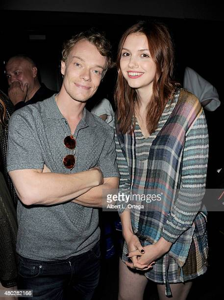 Actors Alfie Allen and Hannah Murray attend the 'Game of Thrones' panel during ComicCon International 2015 at the San Diego Convention Center on July...
