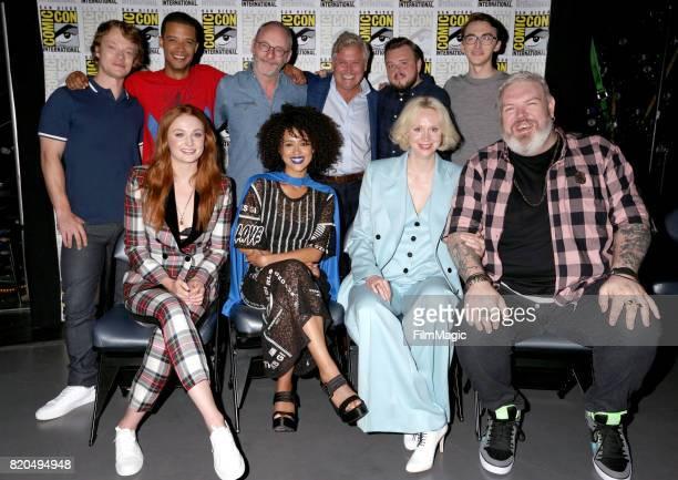 Actors Alfie Allen Jacob Anderson Liam Cunningham Conleth Hill John Bradley Isaac Hempstead Wright Sophie Turner Nathalie Emmanuel Gwendoline...