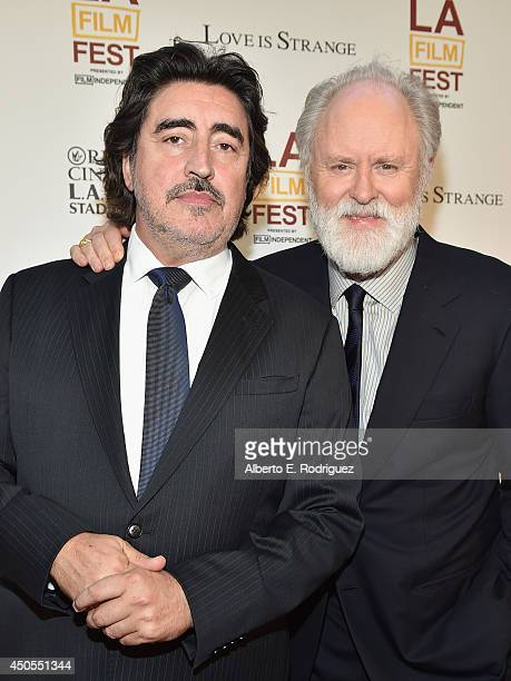 Actors Alfred Molina and John Lithgow attend the Los Angeles Film Festival's premiere of Sony Pictures Classics' 'Love Is Strange' at LACMA on June...