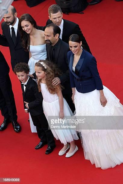 Actors Ali Mosaffa, Elyes Aguis, Pauline Burlet, Jeanne Jestin, director Asghar Farhad, producer Alexandre Mallet-Guy and actress Berenice Bejo...