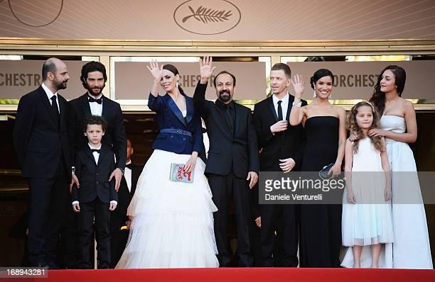 Actors Ali Mosaffa, Elyes Aguis, Tahar Rahim, Berenice Bejo, director Asghar Farhad, producer Alexandre Mallet-Guy, actresses Sabrina Ouazani, Jeanne...