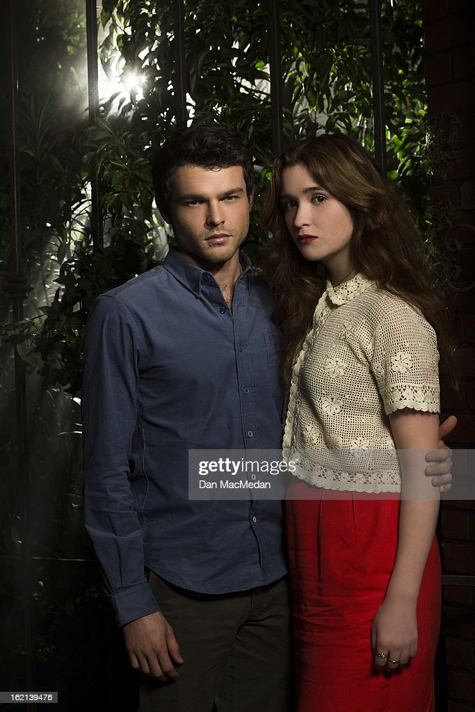 Alice Englert and Alden Ehrenreich, USA Today, February 15, 2013