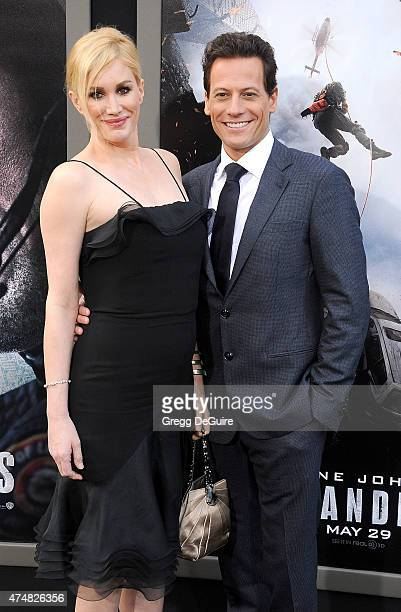 Actors Alice Evans and Ioan Gruffudd arrive at the Los Angeles premiere of 'San Andreas' at TCL Chinese Theatre IMAX on May 26 2015 in Hollywood...
