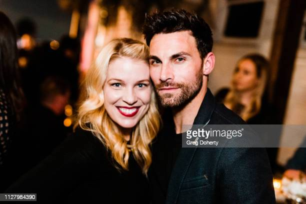 Actors Alicia Leigh Willis and Erik Fellows attend the 8th Annual LANY Mixer at Pearl's on February 26 2019 in West Hollywood California
