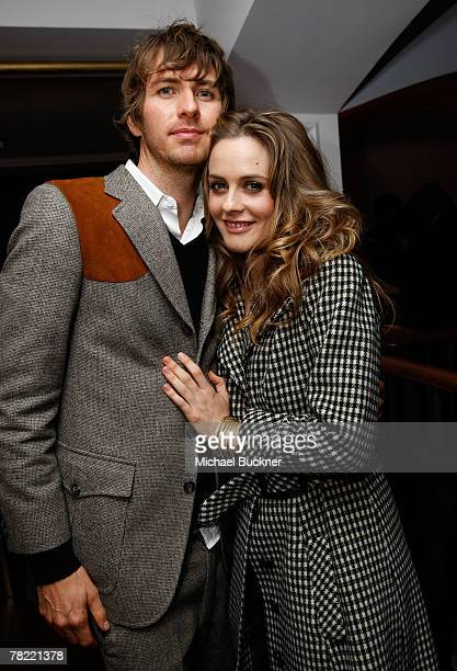 Actors Alicia Silverstone and Christopher Jarecki attend the 'Movies Rock' A Celebration Of Music In Film after party held at the Boulevard3 on...