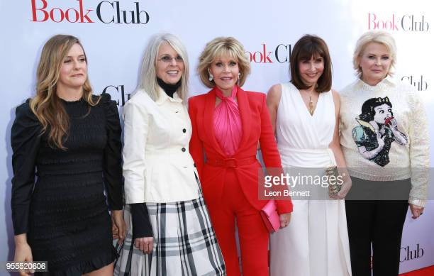 Actors Alicia Silverstone Diane Keaton Jane Fonda Mary Steenburgen and Candice Bergen attend Paramount Pictures' Premiere Of 'Book Club' Red Carpet...