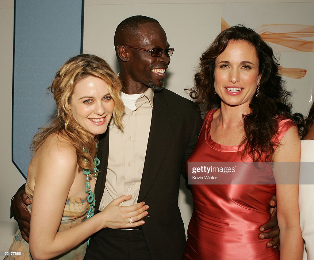 Actors Alicia Silverstone L Djimon Hounsou And Andie MacDowell Pose At The Afterparty