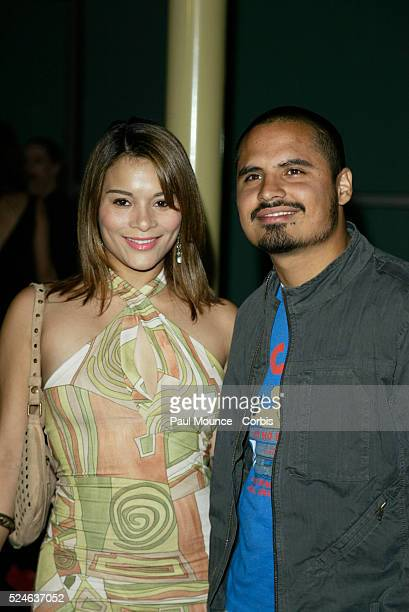 Actors Alisa Reyes and Michael Pena arrive at the Paramount Classics world premiere of 'The United States Of Leland'