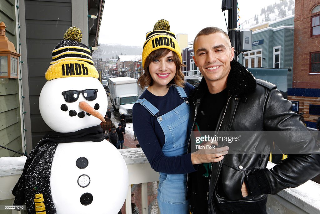 Actors Alison Brie and Dave Franco of 'The Little Hours' attend The IMDb Studio featuring the Filmmaker Discovery Lounge, presented by Amazon Video Direct: Day One during The 2017 Sundance Film Festival on January 20, 2017 in Park City, Utah.