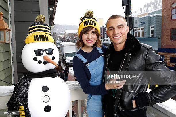 Actors Alison Brie and Dave Franco of 'The Little Hours' attend The IMDb Studio featuring the Filmmaker Discovery Lounge presented by Amazon Video...