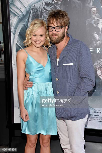Actors Alison Pill and Josh Leonard attend the opening night premiere of Snowpiercer during the 2014 Los Angeles Film Festival at Regal Cinemas LA...