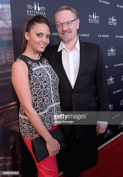 Actors Allegra Riggio and Jared Harris attend the Battersea Power Station launch party to celebrate the launch of its Global Tour at The London West...