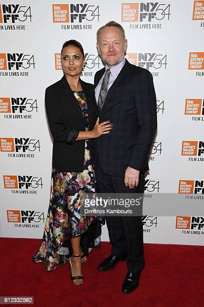 Actors Allegra Riggio and Jared Harris attend the 'Certain Women' premiere during the 54th New York Film Festival at Alice Tully Hall Lincoln Center...